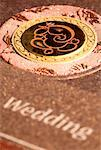 Close-up of a wedding card Stock Photo - Premium Royalty-Free, Artist: F1Online, Code: 630-01708197