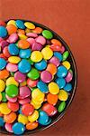 Close-up of a bowl filled with multi-colored candies Stock Photo - Premium Royalty-Freenull, Code: 630-01709464