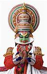 Portrait of a Kathakali dance performer dancing Stock Photo - Premium Royalty-Free, Artist: Westend61, Code: 630-01709936