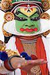 Close-up of a Kathakali dance performer Stock Photo - Premium Royalty-Free, Artist: Westend61, Code: 630-01709942