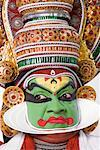 Close-up of a Kathakali dance performer Stock Photo - Premium Royalty-Free, Artist: Westend61, Code: 630-01709945