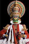 Close-up of a Kathakali dance performer Stock Photo - Premium Royalty-Free, Artist: Westend61, Code: 630-01709955
