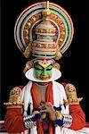 Close-up of a Kathakali dance performer Stock Photo - Premium Royalty-Free, Artist: Westend61, Code: 630-01709958