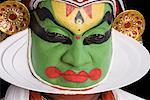 Portrait of a Kathakali dance performer Stock Photo - Premium Royalty-Free, Artist: Westend61, Code: 630-01709973