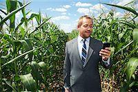 digital - Businessman in Cornfield    Stock Photo - Premium Royalty-Freenull, Code: 600-01716013