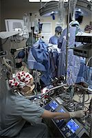 Doctors Performing Open Heart Surgery    Stock Photo - Premium Rights-Managednull, Code: 700-01716539