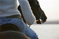 Woman Riding Horse, Netherlands    Stock Photo - Premium Rights-Managednull, Code: 700-01742707