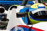 Close-up of a racecar driver in a racecar Stock Photo - Premium Royalty-Free, Artist: Aflo Sport, Code: 625-01744642