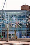 Tourists in front of a building, Maryland Science Center, Baltimore, Maryland, USA