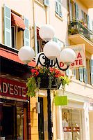 Lamppost in front of a building, Nice, France Stock Photo - Premium Royalty-Freenull, Code: 625-01751489