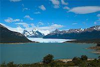 perito moreno glacier - Lake passing through a mountain range, Moreno Glacier, Argentine Glaciers National Park, Lake Argentino, El Calafate, Patagonia Stock Photo - Premium Royalty-Freenull, Code: 625-01751614