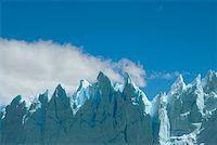 perito moreno glacier - Low angle view of glaciers, Moreno Glacier, Argentine Glaciers National Park, Lake Argentino, El Calafate, Patagonia Stock Photo - Premium Royalty-Freenull, Code: 625-01751721