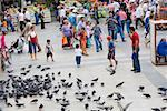 High angle view of crowd in a market, Istanbul, Turkey Stock Photo - Premium Royalty-Free, Artist: Glowimages               , Code: 625-01752353