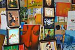 Painter with his paintings, Hanoi Vietnam Stock Photo - Premium Royalty-Free, Artist: Albert Normandin, Code: 625-01753059