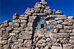 Old ruins of a stone wall, Lake Titicaca, Taquile Island, Puno, Peru Stock Photo - Premium Royalty-Freenull, Code: 625-01753190