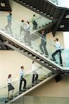 Business People on Stairs    Stock Photo - Premium Rights-Managed, Artist: Masterfile, Code: 700-01764225