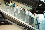 Business People on Stairs    Stock Photo - Premium Rights-Managed, Artist: Masterfile, Code: 700-01764226