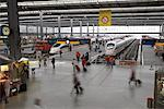 Munich Central Station, Munich, Germany    Stock Photo - Premium Rights-Managed, Artist: Graham French, Code: 700-01764784