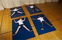 Kids in Gym Class    Stock Photo - Premium Royalty-Freenull, Code: 600-01764802