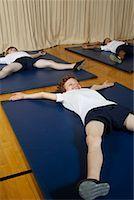 Kids in Gym Class    Stock Photo - Premium Royalty-Freenull, Code: 600-01764804