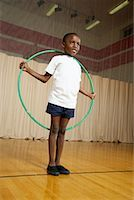 preteen  smile  one  alone - Boy With Hula Hoop    Stock Photo - Premium Royalty-Freenull, Code: 600-01764812
