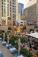 restaurant new york manhattan - Rockefeller Center, New York City, New York, USA    Stock Photo - Premium Rights-Managednull, Code: 700-01765086