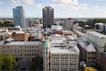 Overview of City, Christchurch, New Zealand    Stock Photo - Premium Rights-Managed, Artist: Lalove Benedict, Code: 700-01765132