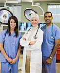 Portrait of Doctor and Nurses    Stock Photo - Premium Rights-Managed, Artist: Fabio Cardoso, Code: 700-01787667