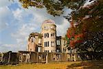 A-Bomb Dome in Hiroshima Peace Memorial Park, Hiroshima, Japan    Stock Photo - Premium Rights-Managed, Artist: Jochen Schlenker, Code: 700-01788031