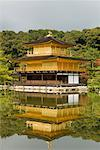 Kinkakuji Temple and Mirror Pond, Kyoto, Japan    Stock Photo - Premium Rights-Managed, Artist: Jochen Schlenker, Code: 700-01788051