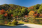 Sogen Pond in Tenryu-ji, Kyoto, Japan