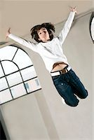 Boy Jumping    Stock Photo - Premium Rights-Managednull, Code: 700-01788369