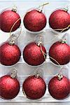 Close-Up of Christmas Tree Decorations    Stock Photo - Premium Rights-Managed, Artist: David Muir, Code: 700-01788541