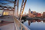 Cityscape from Bridge, Nashville, Tennessee