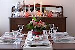 Table Set for Christmas Dinner    Stock Photo - Premium Rights-Managed, Artist: Peter Reali, Code: 700-01788887