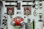 Close up of a control panel Stock Photo - Premium Royalty-Free, Artist: Westend61, Code: 614-01819252