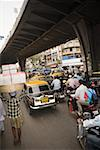 Traffic in mumbai Stock Photo - Premium Royalty-Free, Code: 614-01821064