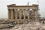 Parthenon Under Restoration, Athens, Greece    Stock Photo - Premium Rights-Managed, Artist: Derek Shapton, Code: 700-01827198