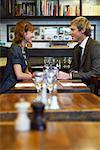 Couple in Restaurant    Stock Photo - Premium Royalty-Free, Artist: Masterfile, Code: 600-01827681