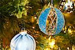 Close-up of Christmas Ornaments    Stock Photo - Premium Royalty-Free, Artist: Masterfile, Code: 600-01838240