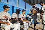Coach Talking to Baseball Players    Stock Photo - Premium Rights-Managed, Artist: Masterfile, Code: 700-01838367