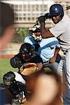 Baseball Game    Stock Photo - Premium Rights-Managed, Artist: Peter Barrett, Code: 700-01838372