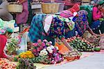 Woman Preparing Produce at Market, Oaxaca, Mexico    Stock Photo - Premium Rights-Managed, Artist: Jeremy Woodhouse, Code: 700-01838830
