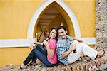 Couple with soda bottles Stock Photo - Premium Royalty-Free, Artist: Glowimages, Code: 621-01839870