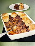Mince cobbler with scones Stock Photo - Premium Royalty-Freenull, Code: 659-01844083
