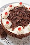 Black Forest gateau Stock Photo - Premium Royalty-Freenull, Code: 659-01846271