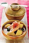 Potato curry with mango and poppy seeds (India) Stock Photo - Premium Royalty-Freenull, Code: 659-01846843