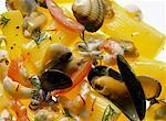 Pasta salad with seafood & clams Stock Photo - Premium Royalty-Free, Artist: iRepublic, Code: 659-01848629