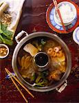 Chinese Hot Pot Stock Photo - Premium Royalty-Free, Artist: Oriental Touch           , Code: 659-01848832