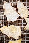 Fir tree shaped biscuits sprinkled with icing sugar Stock Photo - Premium Royalty-Free, Artist: foodanddrinkphotos, Code: 659-01849743